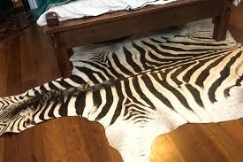 zebra hide rug print cowhide uk