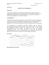 Sintesis De Colorantes Quimica Organical L Duilawyerlosangeles