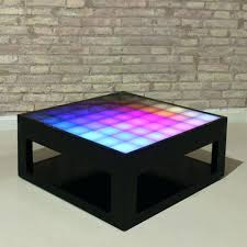 interactive coffee table led schematic