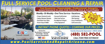 Pool Service And Repair Arizona Affordable Honest and Dependable