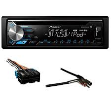 amazon com pioneer deh x3900bt single din bluetooth in dash cd am Metra Car Stereo Wiring Harness Metra 70 1858 Receiver Wiring Harness #11