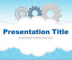 Cloud Computing Ppt Template Is A Free Powerpoint Background