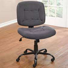 cool desk chair. Awesome Gray Fabric Upholstered Swivel Desk Chair With Black Iron Pedestal Bases And Caster Wheels As Cool G