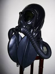 Gas mask nitrous fetish