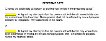 Letter For Power Of Attorney Free Power Of Attorney Forms Word Pdf Eforms Free