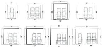 garage door width standard garage door sizes gorgeous two car size width j interior design standard garage door width