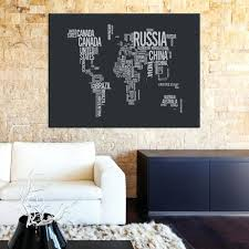 large wall art canvas large wall art world map by country names on black background canvas print extra large wall art wall art print large world large wall  on extra large wall art canada with large wall art canvas large wall art world map by country names on