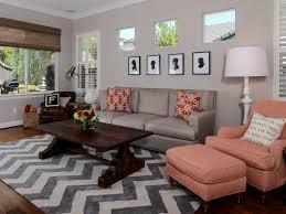 Chevron Living Room Decor