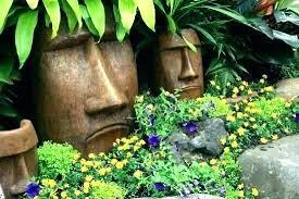landscape statues concrete garden statue ideas yard outdoor sculpture for c s