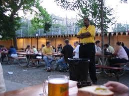 security guard bohemian hall beer garden 29 19 24th avenue astoria