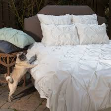 400 thread count off white pintuck duvet cover the valencia natural traditional bedroom