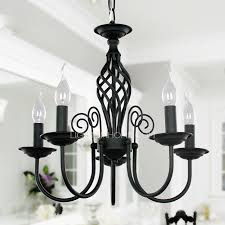 simple wrought iron small chandeliers for bedrooms 5 light