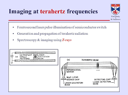 femtosecond chemistry. 7 imaging at terahertz frequencies femtosecond laser pulse illumination of semiconductor switch generation and propagation radiation chemistry a