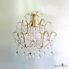 beautiful cascade of clear beads sparkle with charming antique white and crystal swag chandelier takeluckhome com