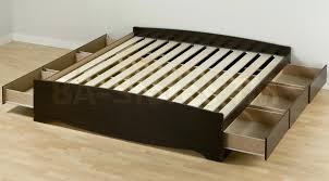 king size platform bed frame with storage ideas full queen beds