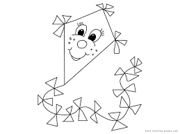 Small Picture Printable Kites To ColorKitesPrintable Coloring Pages Free Download