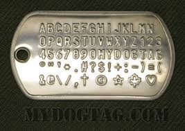 Dog Tag Vending Machine Locations Inspiration Military Dog Tags Generator Customized ID Dogtags For People Pets