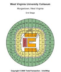Wvu Coliseum Seating Chart West Virginia University Coliseum Tickets And West Virginia