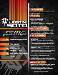 graphics design resumes graphic design resume by dustin soto at coroflot com