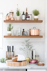 Kitchen Wall Shelf 17 Best Ideas About Kitchen Shelves On Pinterest Open Kitchen