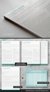 Modern Resume Templates Green Clever Cv Template Pack A Drop Of Green Freesumes