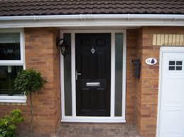 front doors creative ideas black exterior regarding with glass side panels prepare 29