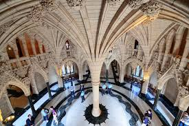 Parliament The Canadian Encyclopedia - Houses of parliament interior