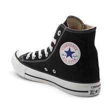 converse all star black. alternate view: converse chuck taylor all star hi sneaker - black alt2