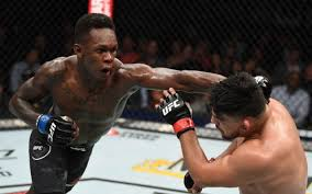 One of the most exciting fighters in all of mixed martial arts will make his return to the octagon at ufc 248 the bout went on to be named 2019's fight of the year by a long list of media outlets. Ufc 236 Israel Adesanya Claims Title In Epic Fight Vs Kelvin Gastelum