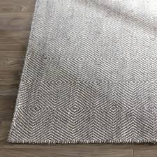 wayfair area rugs mercury row flat woven cotton gray area rug reviews wayfair area rugs 4 x 6
