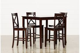 Pics of dining room furniture Oak Display Product Reviews For Pierce Piece Counter Set Nebraska Furniture Mart Dining Room Furniture Collection Living Spaces