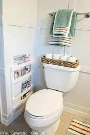 Bathroom Wall Magazine Holder Amazing 32 Bathroom Organization Ideas To Make Mornings Less Hectic