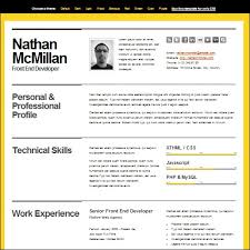 The Best Resume Template Awesome 28 Best CV And Résumé Templates