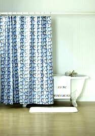 expensive southern tide shower curtain waterfall ruffled navy blue fabric vast and white striped target