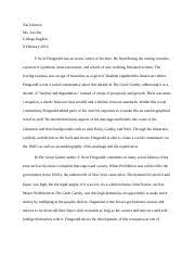 the great gatsby documents course hero the great gatsby essay