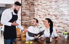 restaurant waiter taking order. Fine Restaurant Male Waiter Taking Order From Visitors In Country Restaurant Stock Photo   83532697 Inside Restaurant Waiter Taking Order I