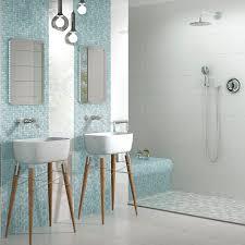 Light blue bathroom tiles Ocean Bathroom Bathroom Mosaic Tile Wall Floor Porcelain Stoneware Fresh Light Bluemix Archiexpo Bathroom Mosaic Tile Wall Floor Porcelain Stoneware Fresh
