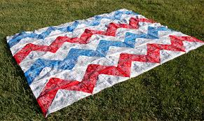 9 Easy Bandana Quilts to Inspire You - Quilting Digest & Chevron Bandana Tablecloth or Quilt Top Adamdwight.com