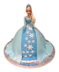 Frozen Fondant Barbie Rashmis Bakery