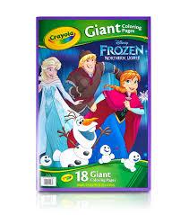 Crayola Giant Disney Coloring Book 1275x19 716 18pg Frozen Joann