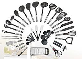Amazon Com Piece Kitchen Utensils Set Home Cooking Tools