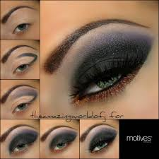 arabic eye makeup tutorial smokey eyes fashion middot eyeshadow for brown