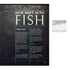Indesign Magazine How To Use Master Pages In Indesign To Create Magazines Instantly