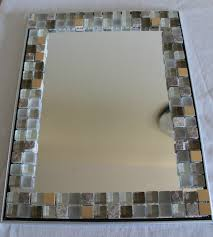 Mirror Tiles Decorating Ideas DIY Home Decor Glass tile Mirror frame Yolanda Soto Lopez YouTube 64