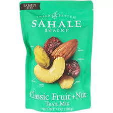 Sahale Snacks, <b>Trail Mix</b>, <b>Classic Fruit</b> + Nut, 7 oz (198 g