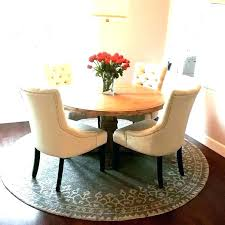area rug under dining table various rug under round dining table round area rugs for dining