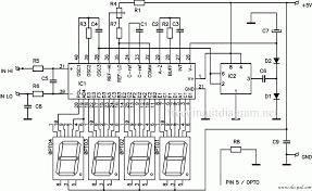 digital led voltmeter using icl7107 circuit wiring diagrams universal digital voltmeter schematic