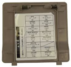 1995 1999 toyota avalon non us models fuse box cover quartz tan 1995 1999 toyota avalon non us models fuse box cover quartz tan new 55545ac022e1