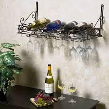 image of wine racks metal wall mounted