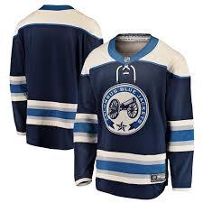 3i��me Columbus Chandail Jackets Nhl Blue - 2018-19 Jersey Breakaway
